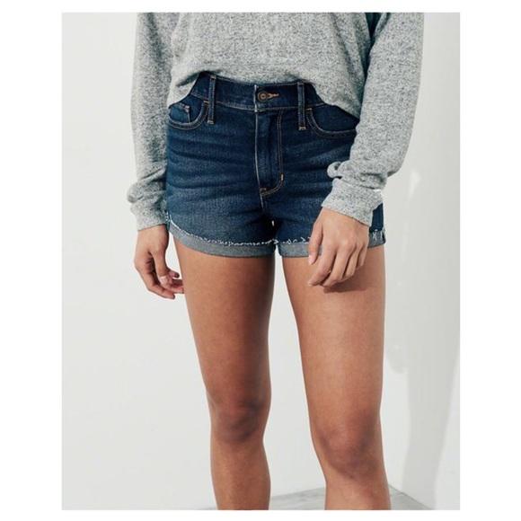 Hollister Pants - Hollister Short Short High Rise Jean Shorts